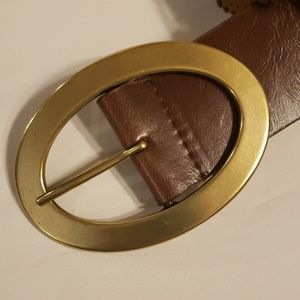 """Accessories - Leather belt brown 41.5"""" long womens"""